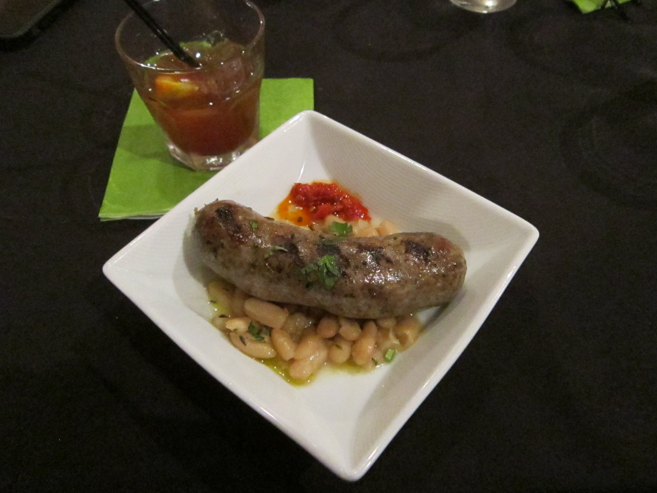 Piastra Restaurant - Veal Sausage