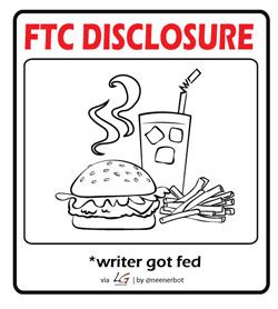 FTC Disclosure (writer got fed)