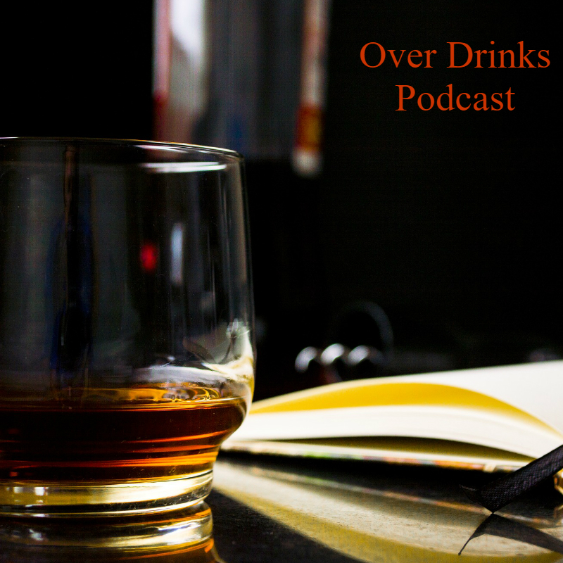 Over Drinks podcast cover