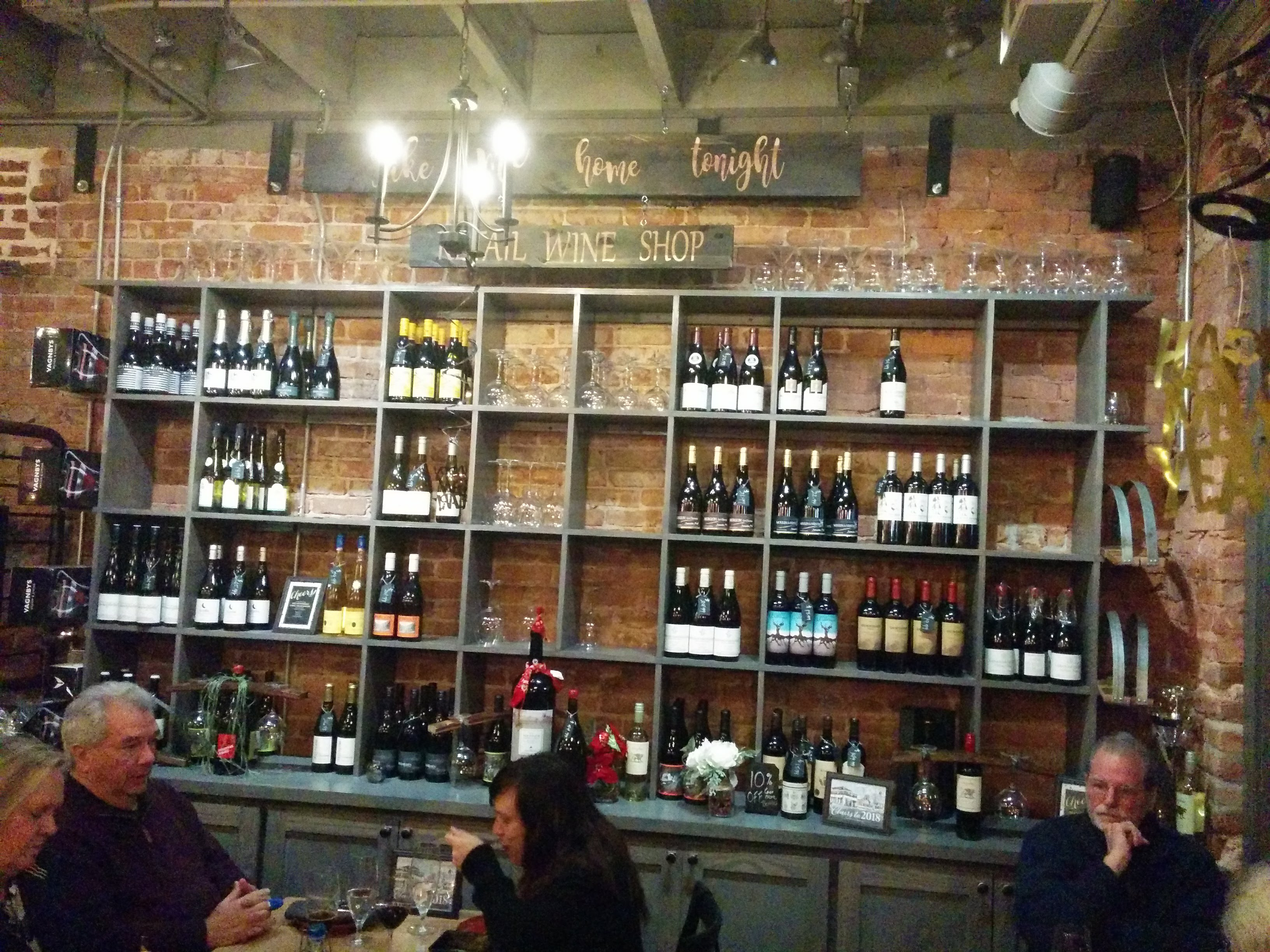 retail at Rootstock and Vine