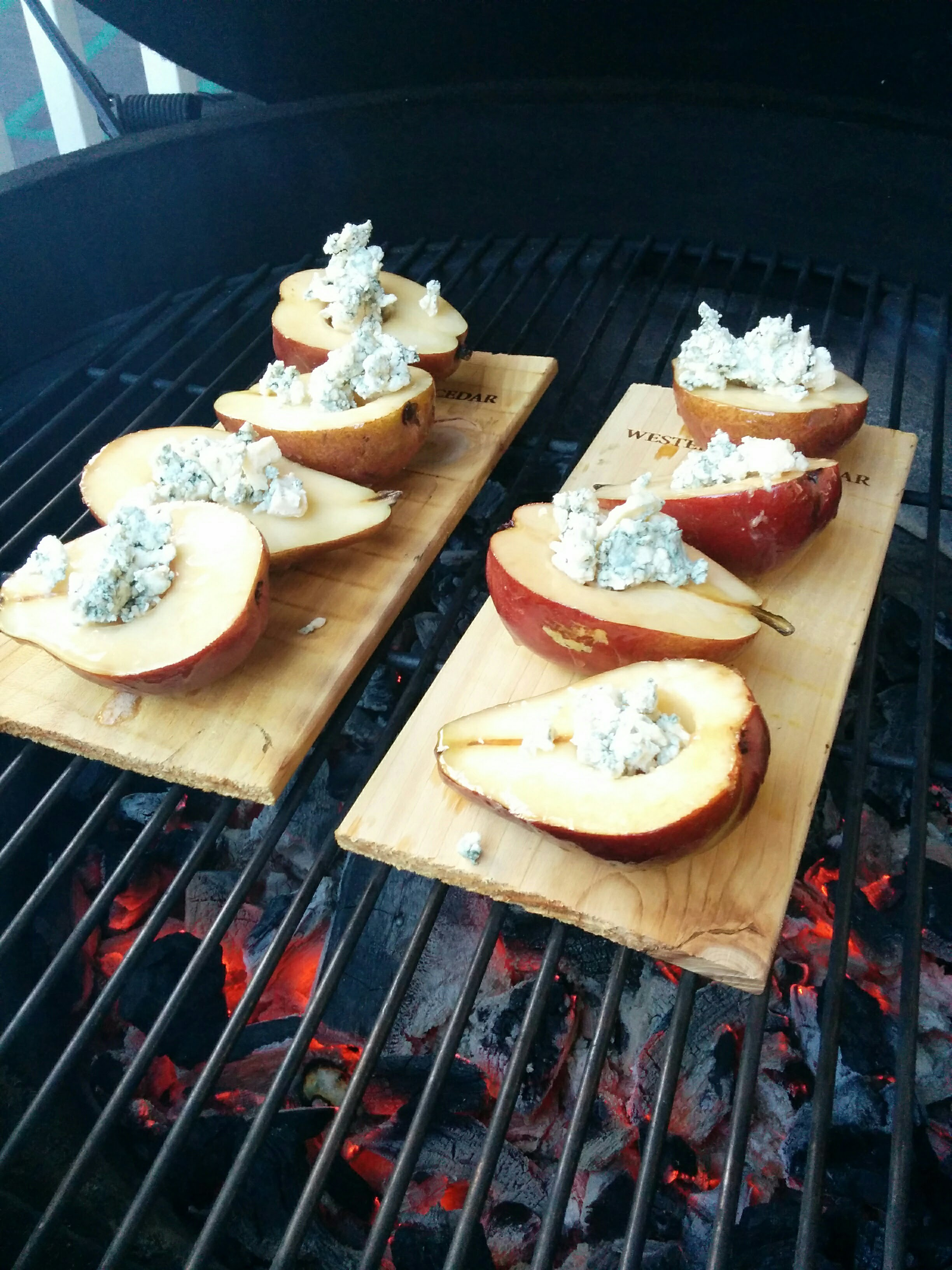 Pears with Bleu Cheese