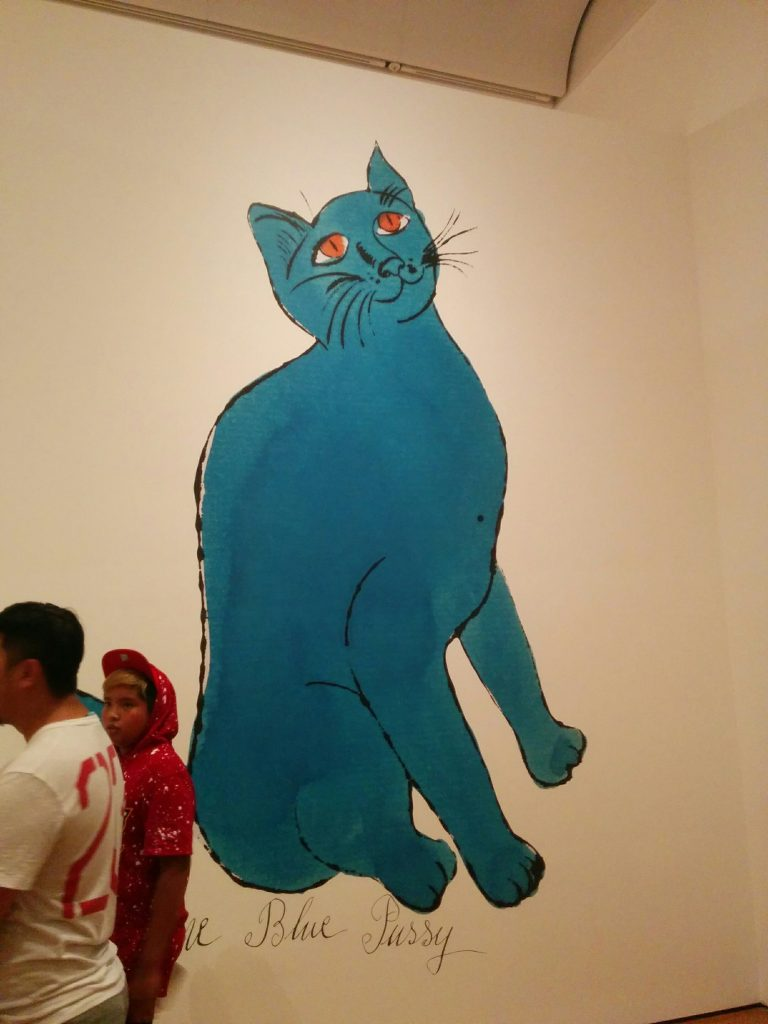 Andy Warhol - One Blue Pussy