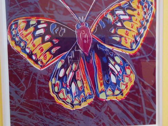 Andy Warhol Butterfly The High Museum of Art Atlanta